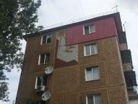 Владелец квартиры испортил на фасаде запорожской многоэтажке мозаику прошлого века