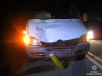 На Кичкасе водитель маршрутки  задавил пешехода (Фото)