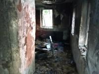 На Хортице сгорел владелец дома
