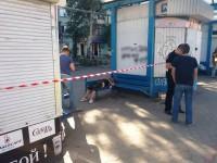 В центре Запорожья на остановке обнаружили тело женщины