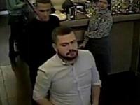 Двое мужчин пообедали в ресторане и ушли не расплатившись