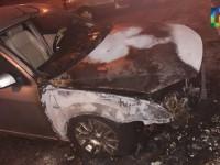 В Запорожской области сожгли авто лидеру общественной организации