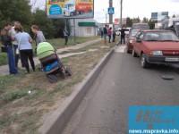 В Запорожской области водитель сбил на «зебре» женщину  с коляской (Фото)