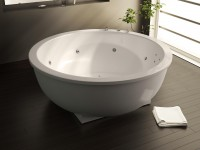 Круглая ванна – функциональное решение для смелых