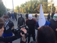 «Фестиваль равенства» в Запорожье: потасовки, слезоточивый газ и задержания (Фото, Видео)