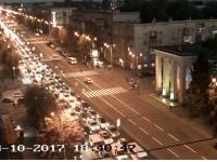 Из-за аварии двух маршруток на мостах и плотине ДнепроГЭС образовались огромные пробки