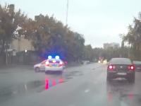 Запорожские патрульные на служебном авто снова угодили в аварию (Видео)