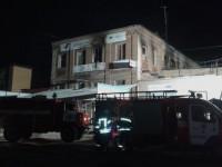 Спасатели опубликовали видео пожара, в котором погибли пятеро постояльцев хостела