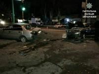 Пьяный сотрудник СТО устроил масштабную аварию на чужой машине (Фото)