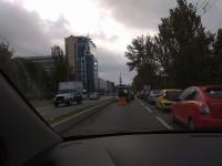 В Запорожье перекрытие Набережной ознаменовалось авариями и коллапсом