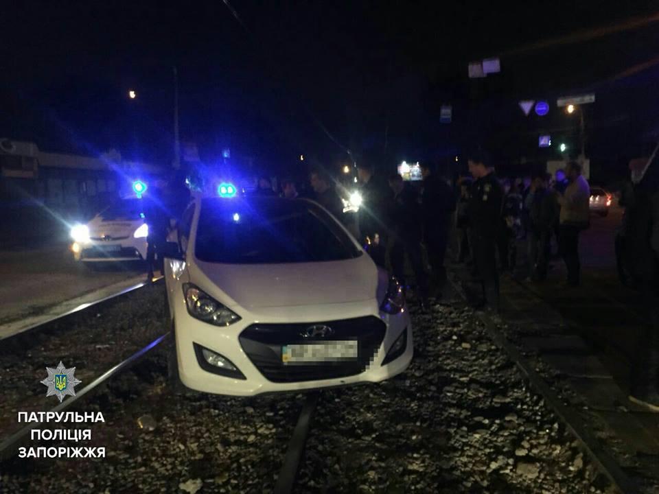 ВЗапорожье шофёр под наркотиками и спиртом сбил человека иполучил админпротокол
