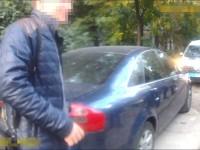 В центре Запорожья пьяный водитель гонял возле детской площадки