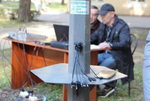 «Есть мелочь, дай позвонить?» : на Кичкасе установили бесплатную подзарядку для гаджетов