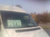 Запорожский маршрутчик отказался везти группу школьников по льготной цене