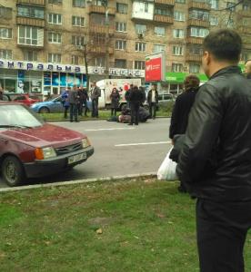 В центре Запорожья на пешеходном переходе сбили двоих детей