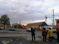 Жительница Запорожской области попала под колеса военного микроавтобуса