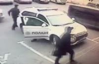 Золотоноша заступился за патрульных, припарковавшихся на месте для людей с инвалидностью (Видео)