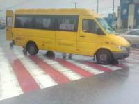 Маршрутчик сбил пешехода на «зебре» возле железнодорожного вокзала