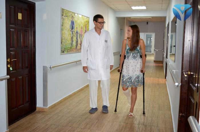 Фото 3_Врачи клиники ортопедии и спортивной травмы вернули радость движения молодой маме из Мелитополя