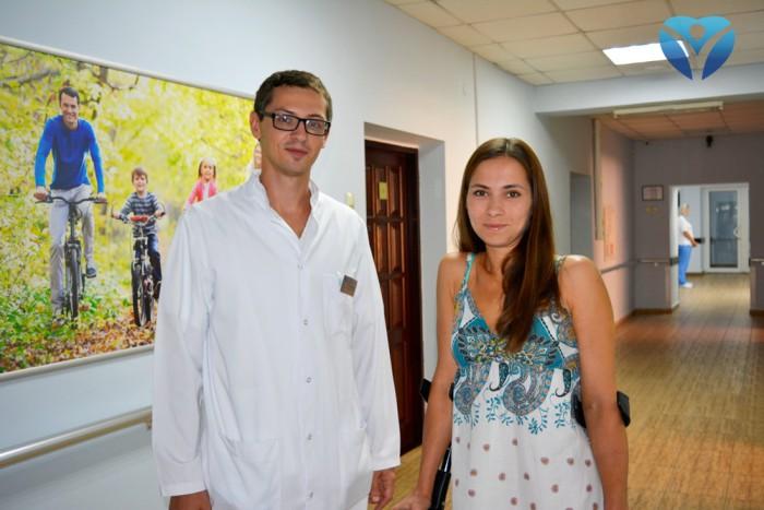 Фото 4_Врачи клиники ортопедии и спортивной травмы вернули радость движения молодой маме из Мелитополя