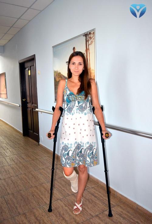 Фото 7_Врачи клиники ортопедии и спортивной травмы вернули радость движения молодой маме из Мелитополя