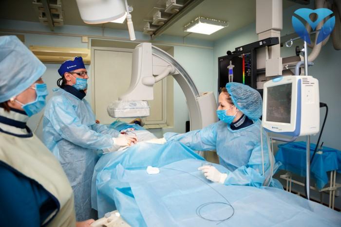 Фото11_Эмболизация маточных артерий новые возможности лечения миомы с помощью нового ангиографа
