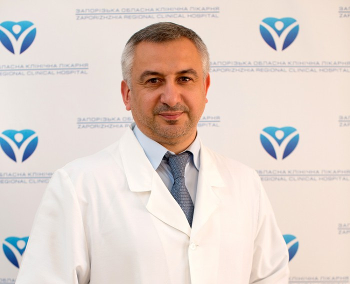 Фото2_Шишка Игорь Васильевич, главный врач Запорожской областной больницы