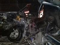 В Запорожской области «Жигули» влетели в грузовик – двое погибших