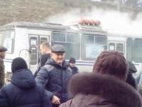 В Запорожской области на ходу задымился междугородний автобус с пассажирами