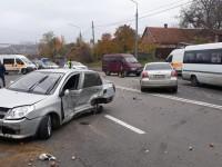 Опубликовано видео аварии в Запорожье, в котором пострадали три человека