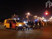 В центре Запорожья в аварию угодила аварийка с газовщиками