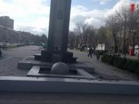 Запорожцы остались без популярной инсталляции для селфи (Фото)