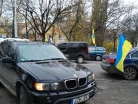 В Запорожье «евробляхеры» устроили акцию протеста под таможней