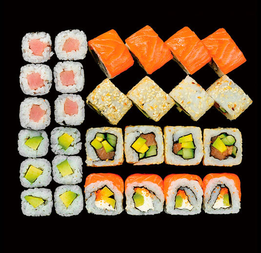 Qsushi.ua  доставка суши