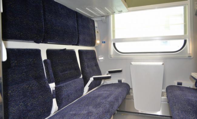 «Укрзализныця» сообщила, когда запустит поезд-трансформер Киев-Запорожье