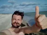 До моря за 5 часов: журналист отметил свой День рождения марафонским забегом