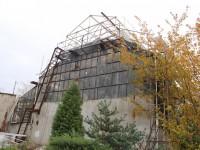 В теплице ботанического сада обвалился стеклянный купол (Фото)