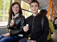 Студенты Запорожья требуют скидку на проезд в общественном транспорте