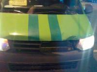 Инкассаторская машина попала в ДТП возле «Авроры» в центре Запорожья (Фото)