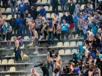 Агрессивный фанат сломал на запорожском стадионе два стула