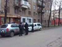 В Запорожье торговца наркотиками задержали возле здания СБУ (Фото)