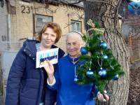 Представители БФ «Солидарность» вместе с сотрудниками Запорожской облбольницы подарили праздник ветеранам (Фото)
