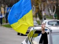 В Запорожской области отметили День ВСУ автопробегом (Фото)