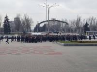 А воз и ныне там: спустя год ветераны МВД снова митингуют из-за мизерных пенсий (Фото)