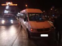 В центре Запорожья водитель сбил пешеходов