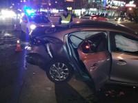 В центре Запорожья девушка за рулем спровоцировала серьезное ДТП – есть пострадавшие (Фото)