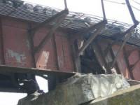Суд вынес приговор жителю Запорожской области, подорвавшему вместе с отцом мост