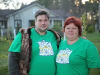 Семейная пара из Запорожской области победила в популярном шоу, сбросив свыше 100 килограмм (Фото)