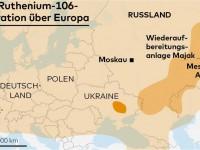 Запорожскую область накрыло радиоактивное облако из соседней страны