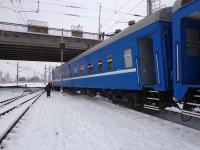 С рельс сошел поезд «Запорожье-Минск» (Фото)